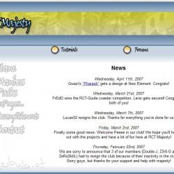 RCT Majesty Website V1.0