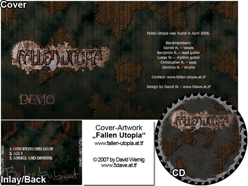 Fallen Utopia CD