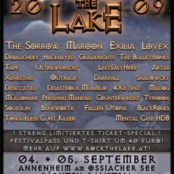 Rock the Lake 2009 Plakat
