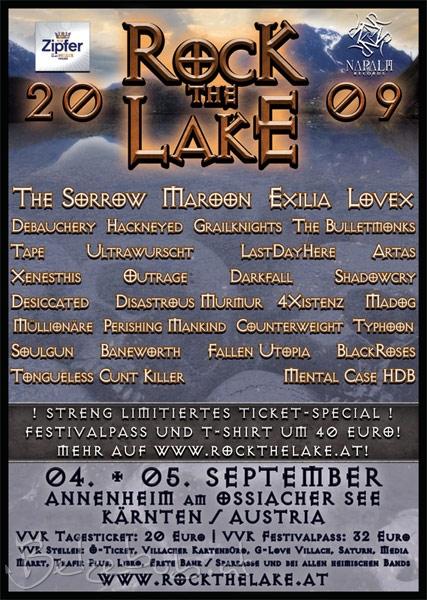 Rock the Lake 2009 Plakat