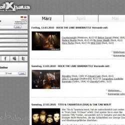 Volxhaus-Website