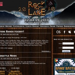 Rock the Lake 2010 Website