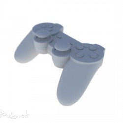 PS3-Controller in 3D