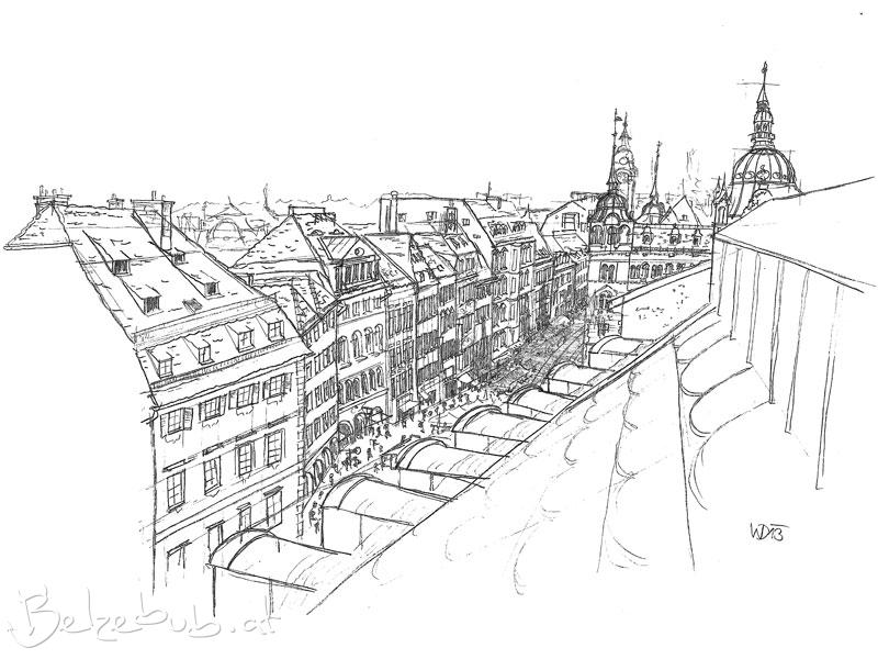 Stadtraum Dachlandschaft Graz