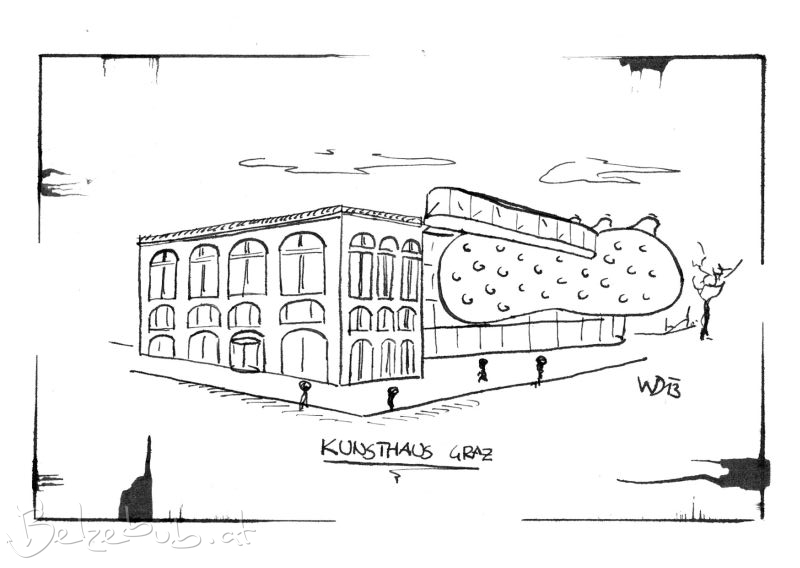 Postkarte Kunsthaus